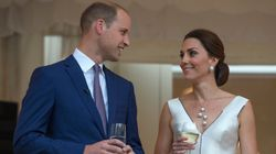 The Duchess of Cambridge Wears Glamorous Cocktail Dress By Polish Designer Gosia
