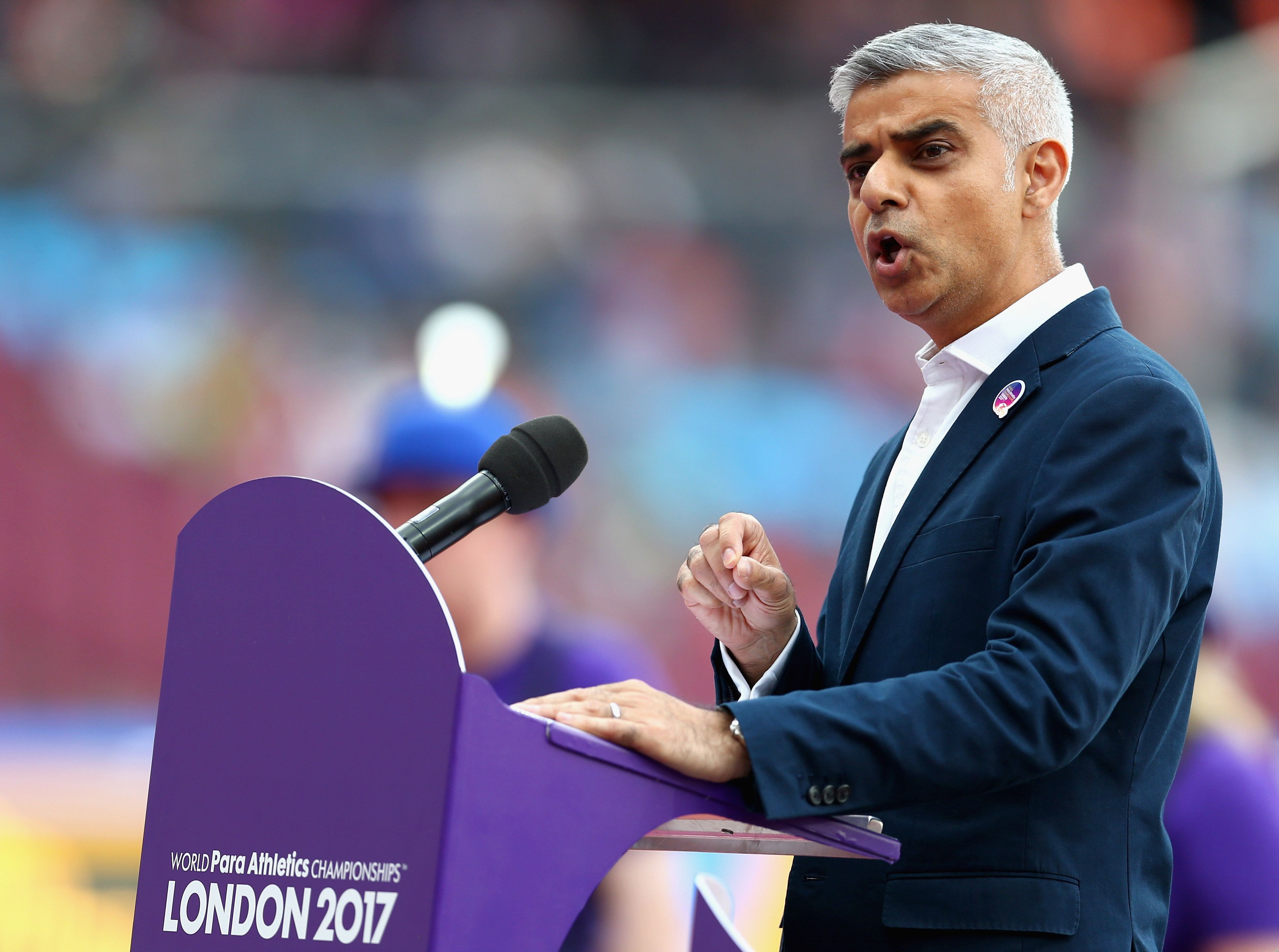 Sadiq Khan said he would not be rolling out the red carpet for Donald