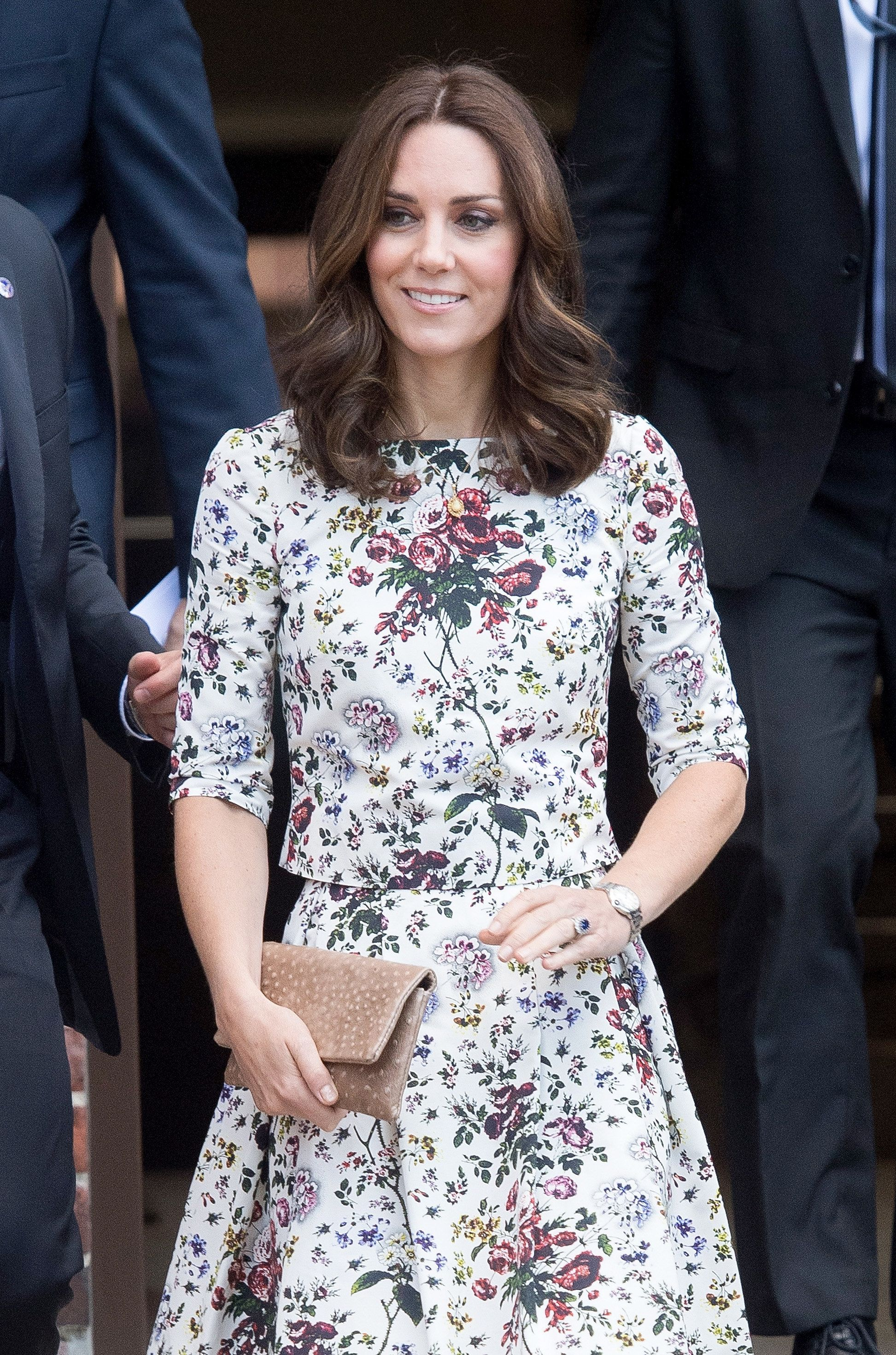 Duchess of Cambridge and Prince William, Duke of Cambridge visit the Stutthof concentration camp during...