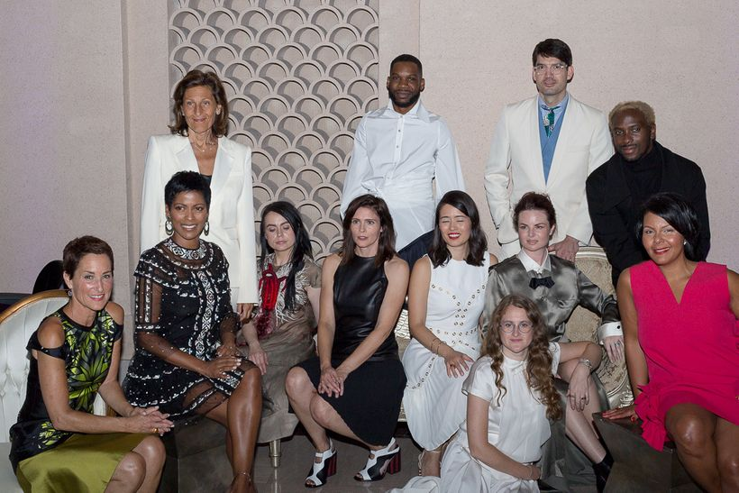 Fluid Fashion '18. St. Louis Fashion Fund Incubator Designers: Agnes Hamerlik, Allison Mitchell, Audra Noyes, Charles Smith I