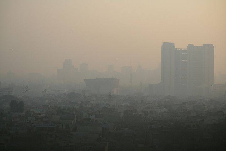 New Delhi's pollution is among the worst in the world. Each autumn, when crops are burnt and wind speeds are low, it risks r