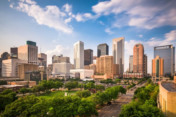 Houston ranked #9 because it's in the top 10 for average summer temperature, the top 20 for population density and