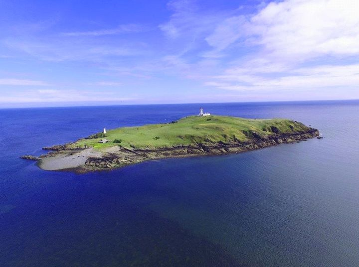 Little Ross Island is off the coast of south west Scotland