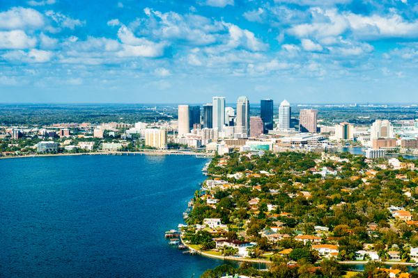 Tampa ranked #8 because it's in the top 25 for average summer temperature, the top 20 for population density and in