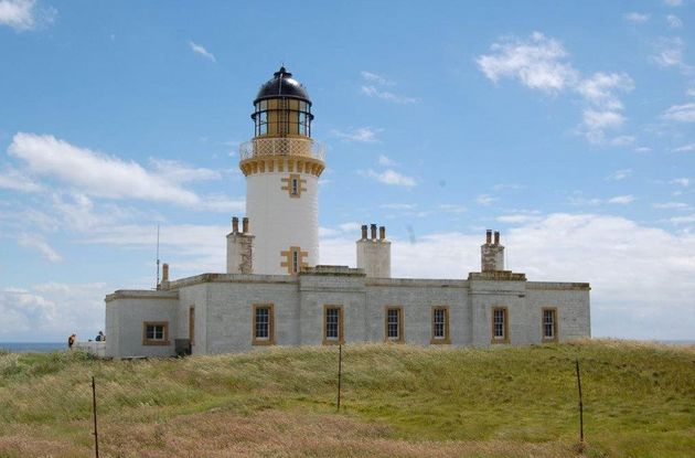 The island is home to a 19th century, fully automated lighthouse tower - though this is not part of the