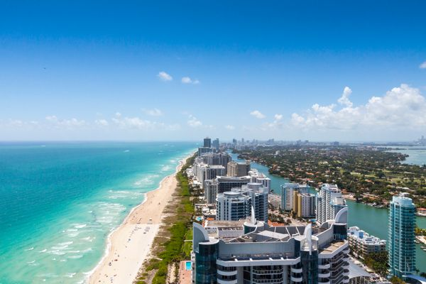 Miami ranked #4 because it's in the top 10 for average summer temperature, in the top 10 for population density and