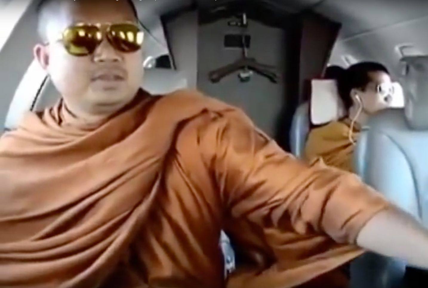Wanted Monk Arrives In Thailand After Extradition