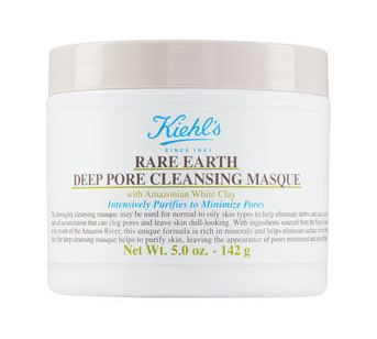 "This masque is the perfect way to start your week. <a href=""http://www.kiehls.com/rare-earth-deep-pore-cleansing-mask/792.htm"