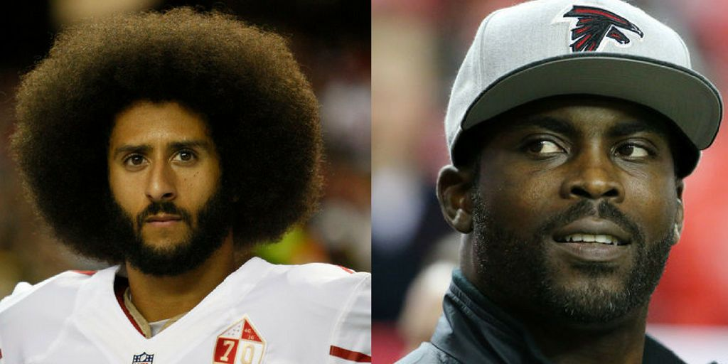 Michael Vick said Colin Kaepernick should cut off his afro to further his career in the NFL.