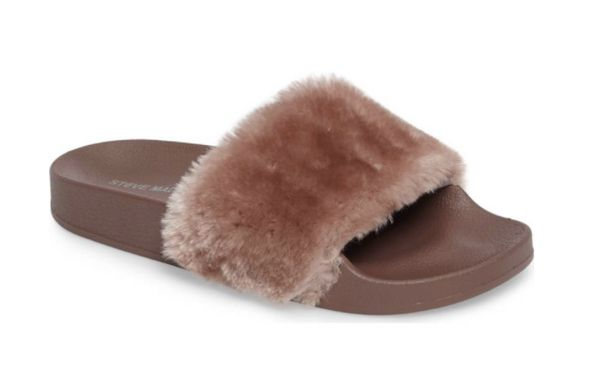 "That are actually made for wearing outside. <a href=""http://shop.nordstrom.com/s/steve-madden-softey-slide-women/4491231?orig"