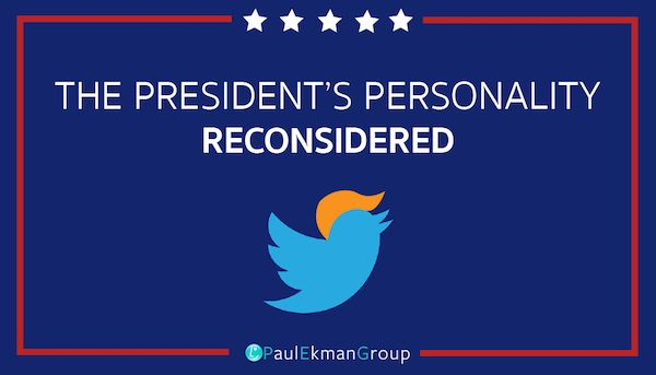 The President's Personality: Reconsidered