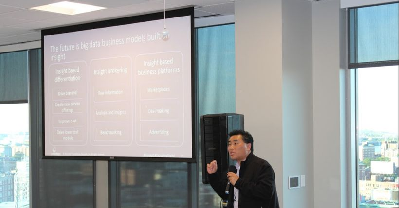 Ray Wang (Twitter: @rwang0), CEO of Constellation Research at Salesforce Digital Summit, Boston