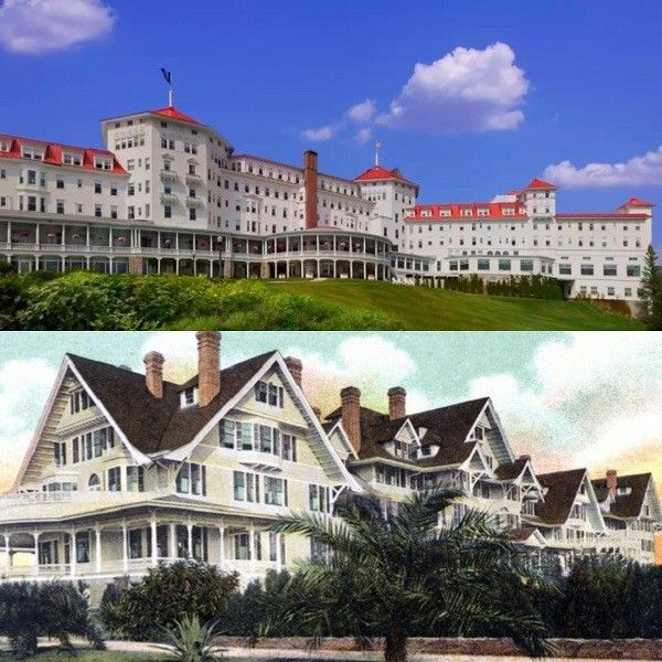 Top: Mount Washington Resort, Bottom: Belleview Biltmore