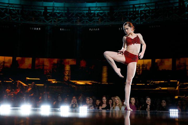 "Eva Igo performing on ""World of Dance."""