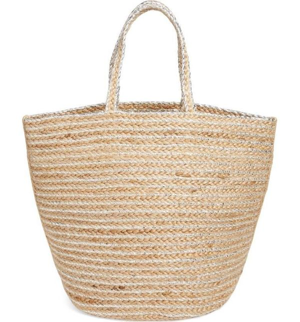 """This bag can double as a beach tote or your purse for the day! We'll let you decide which mood you're in. <a href=""""http://sho"""