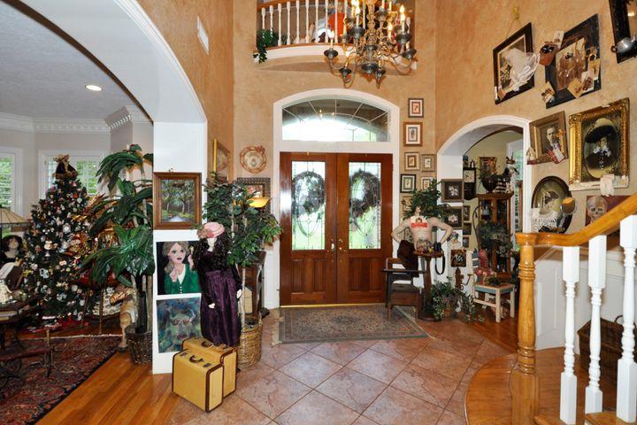 Front door and foyer.