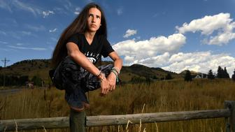 BOULDER, CO - AUGUST 11: Xiuhtezcatl Martinez, 15, is pictured in the beautiful foothills of north Boulder on August 11, 2016 in Boulder, Colorado. Martinez is an influential 15-year-old environmentalist activist who is going to be on television for WE Day, a celebrity studded environmental awareness event. (Photo by Helen H. Richardson/The Denver Post via Getty Images)