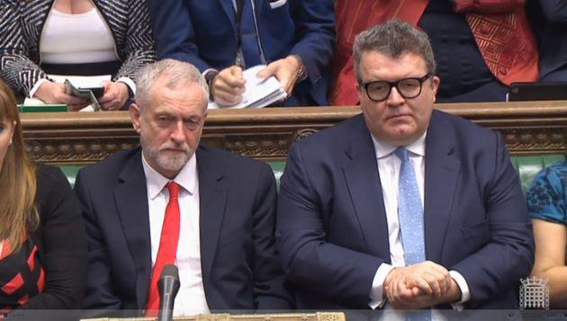 Jeremy Corbyn and Tom
