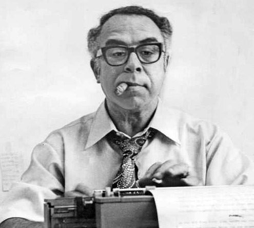 Syndicated columnist Art Buchwald