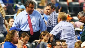 NEW YORK, NEW YORK - JULY 18:  Governor of New Jersey Chris Christie attends the game between the New York Mets and the St. Louis Cardinals at Citi Field on July 18, 2017 in the Flushing neighborhood of the Queens borough of New York City.  (Photo by Mike Stobe/Getty Images)