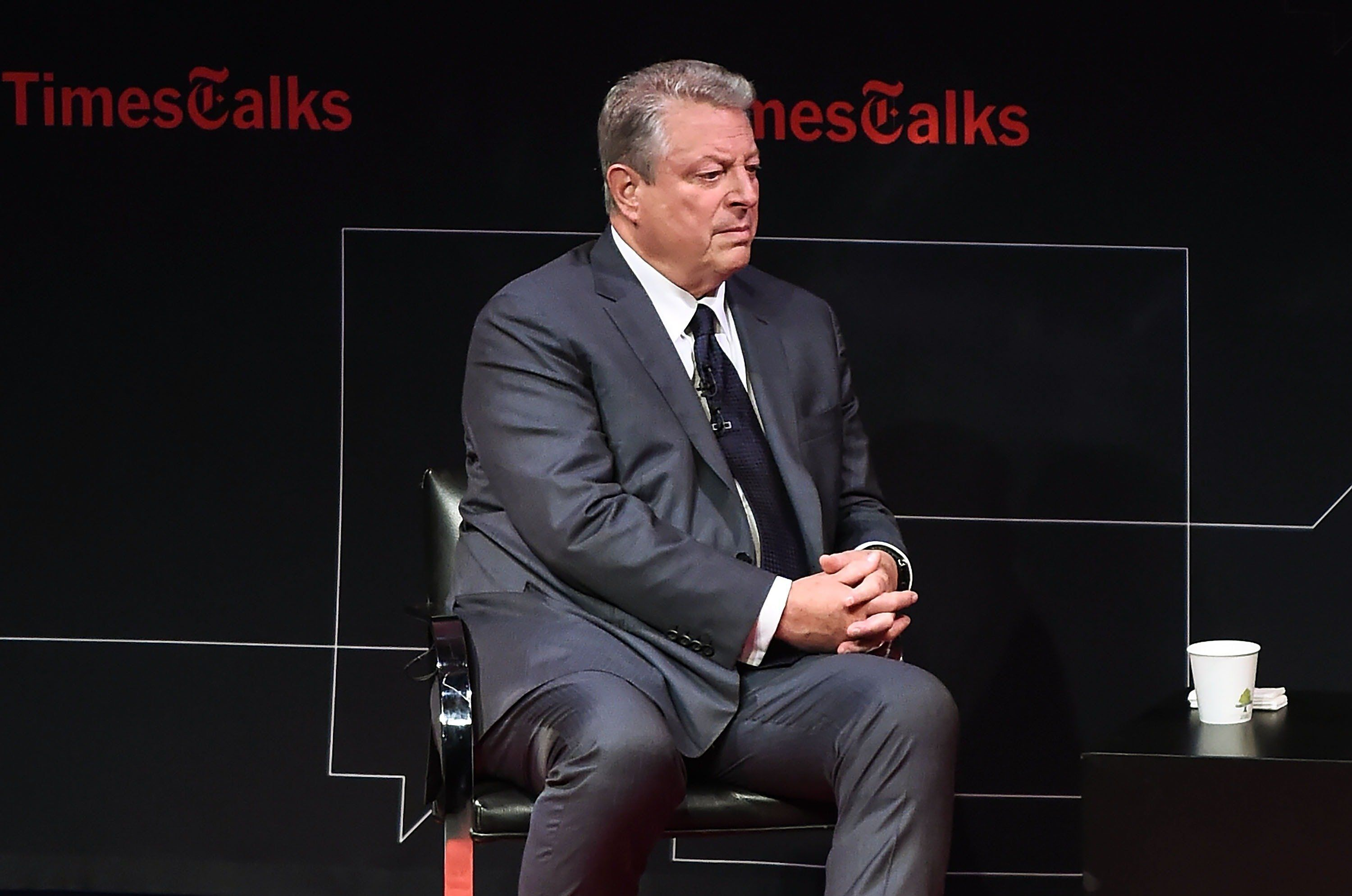 NEW YORK, NY - JULY 18:  Former Vice President Al Gore attends Times Talks at Tribeca Performing Arts Center on July 18, 2017 in New York City.  (Photo by Daniel Zuchnik/Getty Images)
