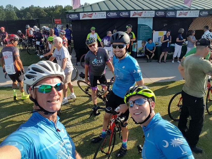 Start of the 2017 SC Ride to Remember