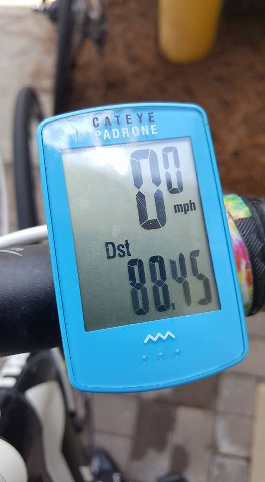 Mileage from day two of the 2017 SC Ride to Remember