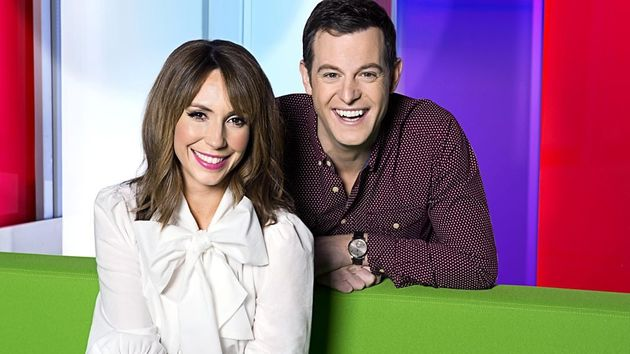A potential pay gap of up to £50,000 exists between Alex Jones (£449,999) and Matt Baker
