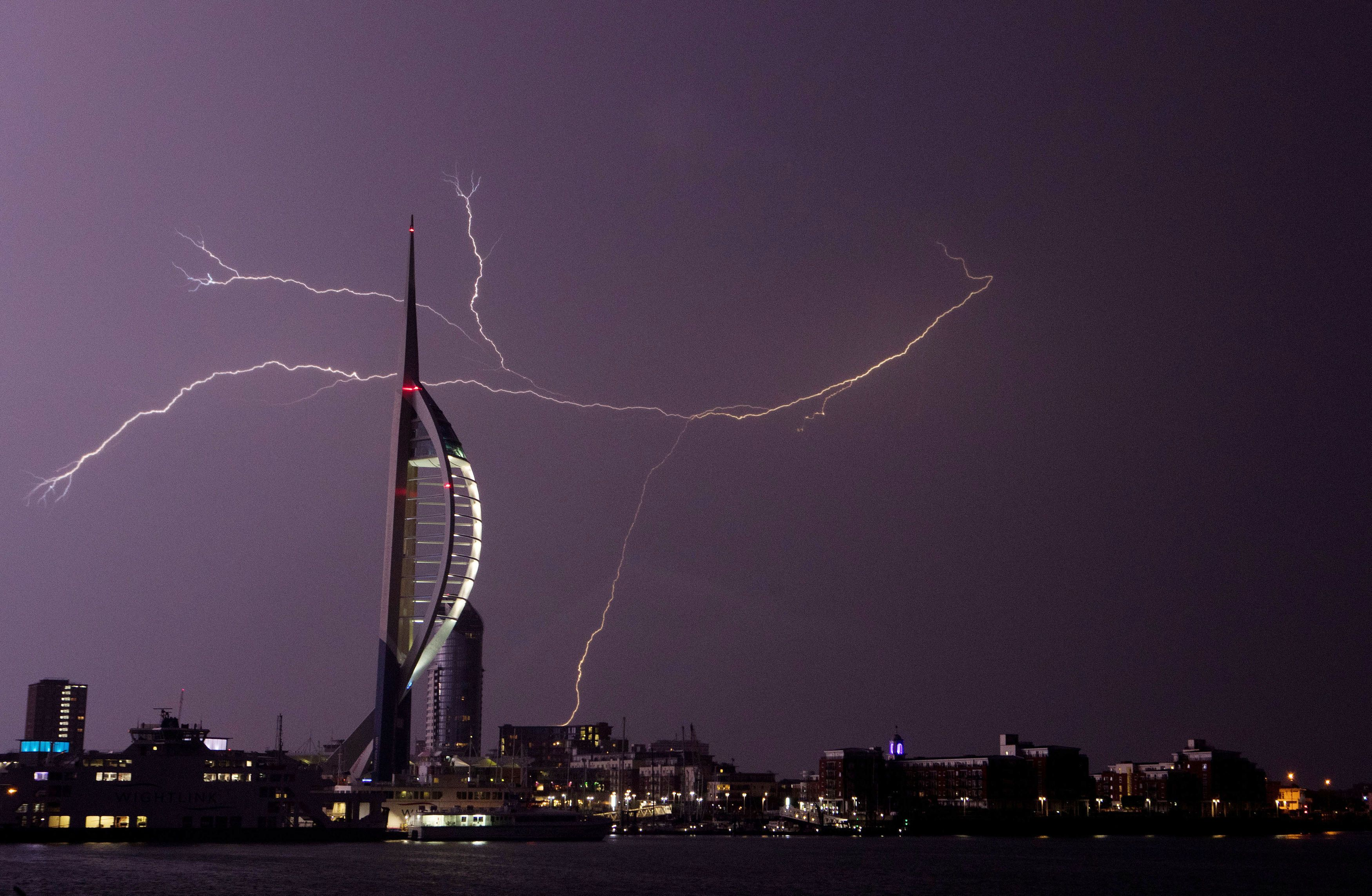 People Are Still Reeling From The Wild Lightning That Battered The