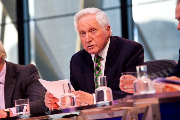 David Dimbleby was absent from the report. 'Question Time' is produced by an independent production