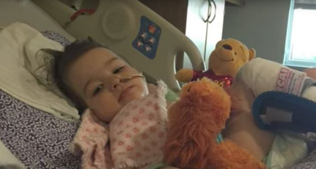 Arkansas toddler recovering after severe brain damage