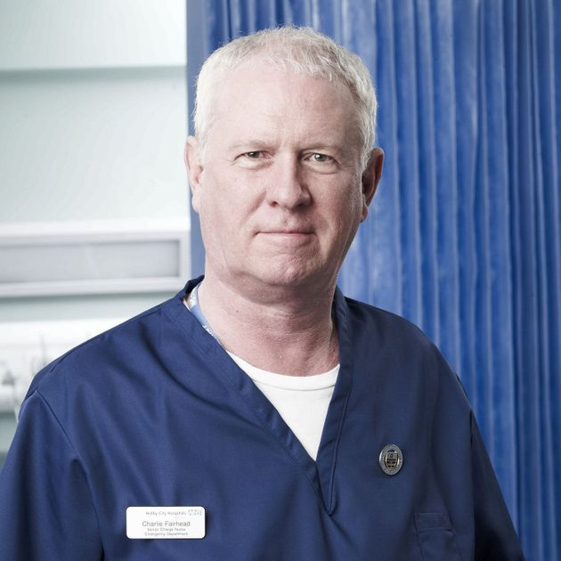 Derek has starred in the medical soap since