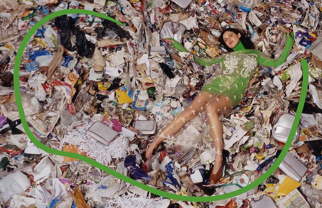 Stella McCartney Promotes Sustainable Fashion By Shooting Campaign On A Landfill