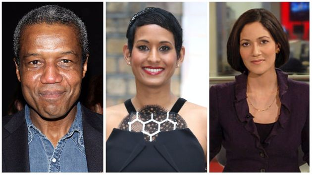 Hugh Quarshie, Naga Munchetty and Mishal Husain made the 'rich list' of BBC