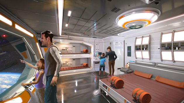 Wait, This 'Immersive' 'Star Wars'-Themed Hotel Looks