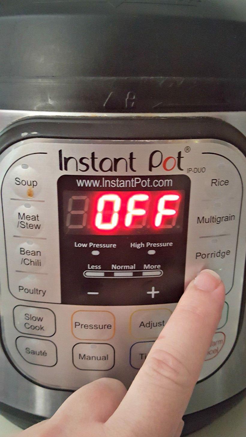 how to cook arroz caldo in instant pot