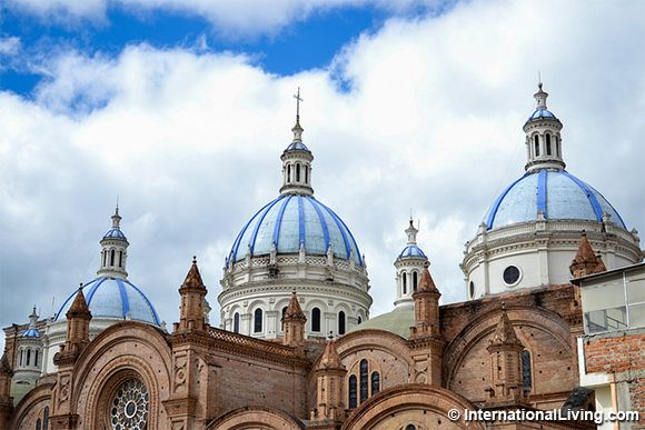 New Cathedral in Cuenca, Ecuador