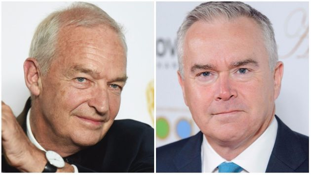 Jon Snow's (right) reported pay dwarfs that of Huw