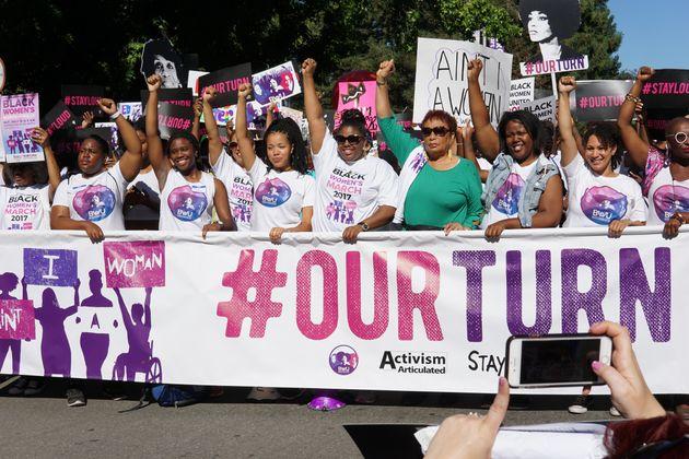 Black Women United organized Sacramento's first march for black women's