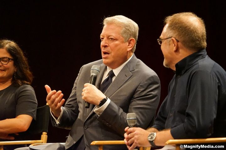 "Al Gore at the PGA screening of ""An Inconvenient Sequel"" at the SVA Theater in New York."