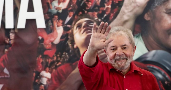 "Luiz Inácio Lula da Silva, once ""the most popular politician in the world,"" was convicted on corruption charges l"