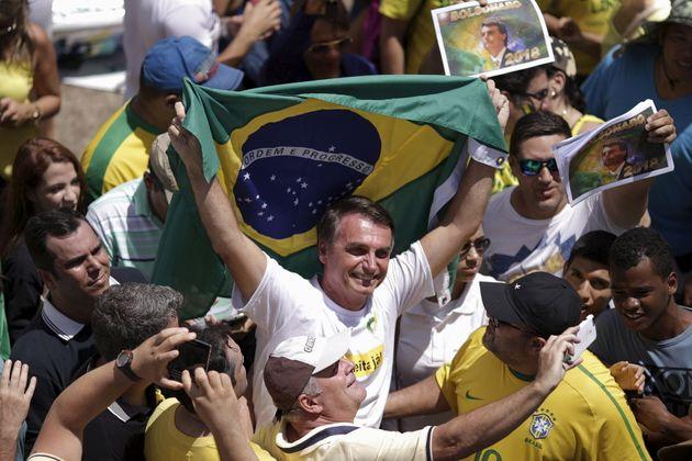 Congressman Jair Bolsonaro, who has been described as