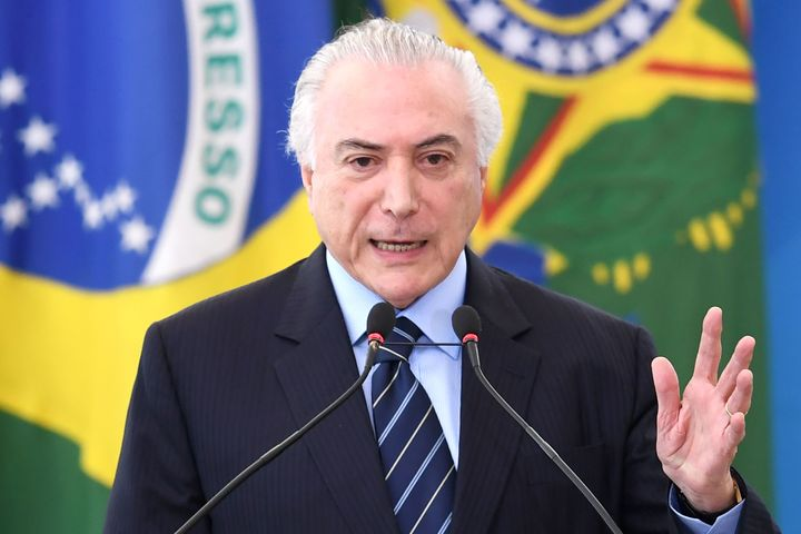 Brazil's current president, Michel Temer, has also been the subject of corruption and bribery allegations.