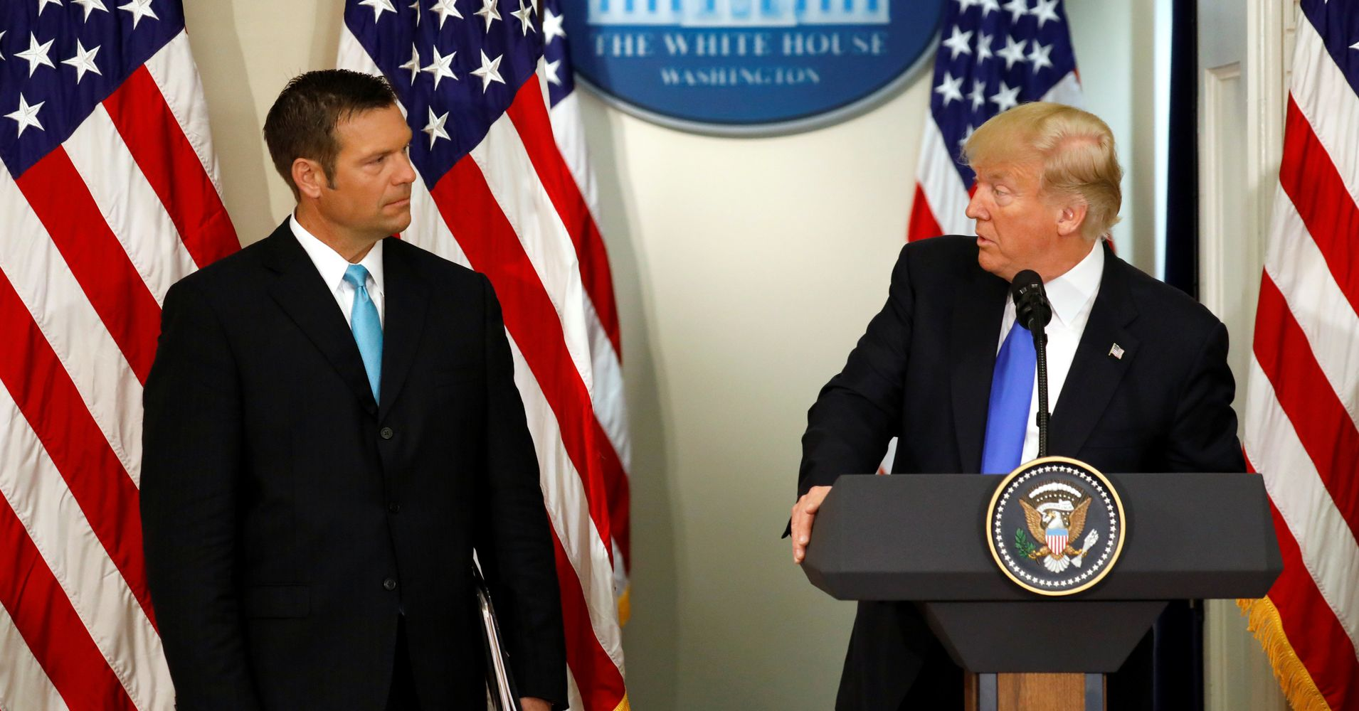 Kris Kobach: 'We May Never Know' If Hillary Clinton Won ...