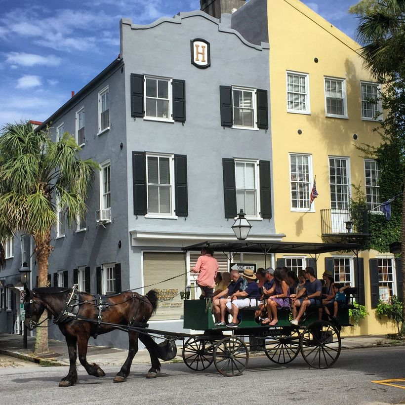 There are many influences around Charleston that date back to its founding as a colony of Barbados.