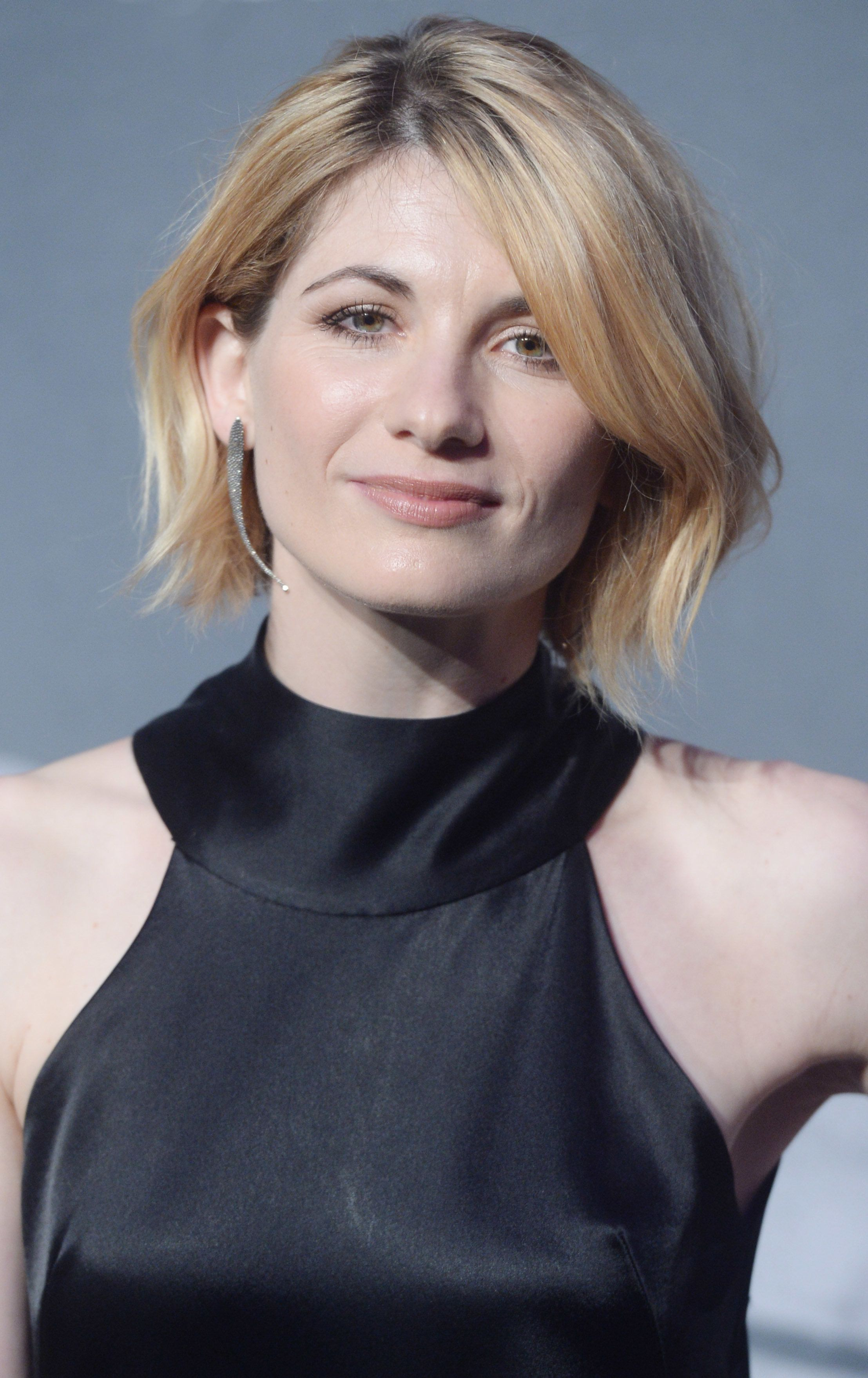 LONDON - DECEMBER 4: Jodie Whittaker attends at The British Independent Film Awards Old Billingsgate Market on December 04, 2016 in London, England.  (Photo by Rune Hellestad/Corbis via Getty Images)