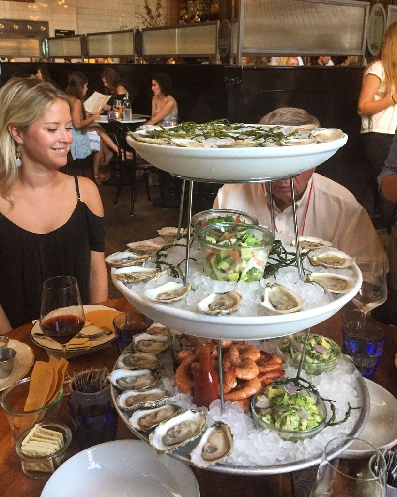The famed seafood tower in The Ordinary is magnificent.