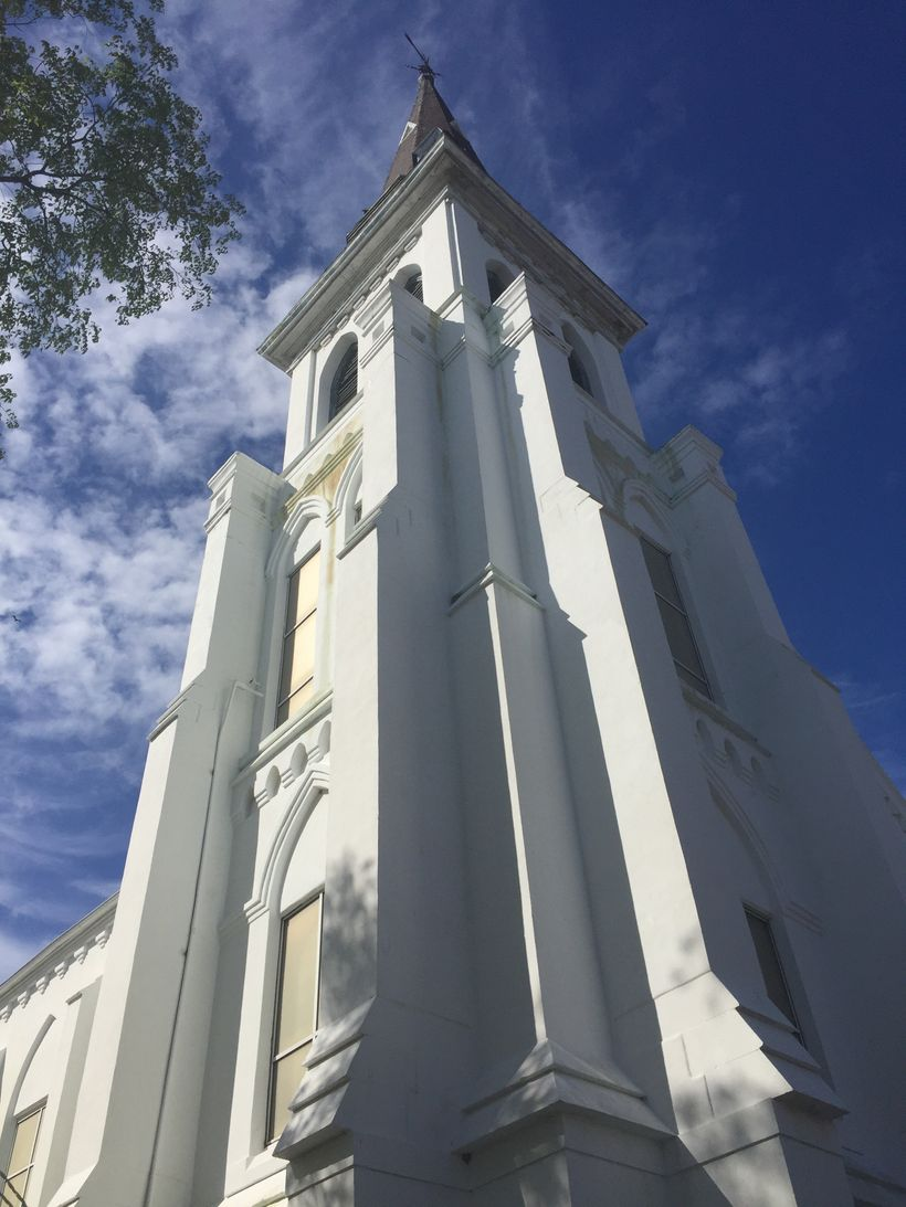 The Emanuel AME Church.