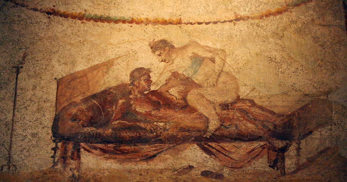 греческие эротические фрески фото - 1