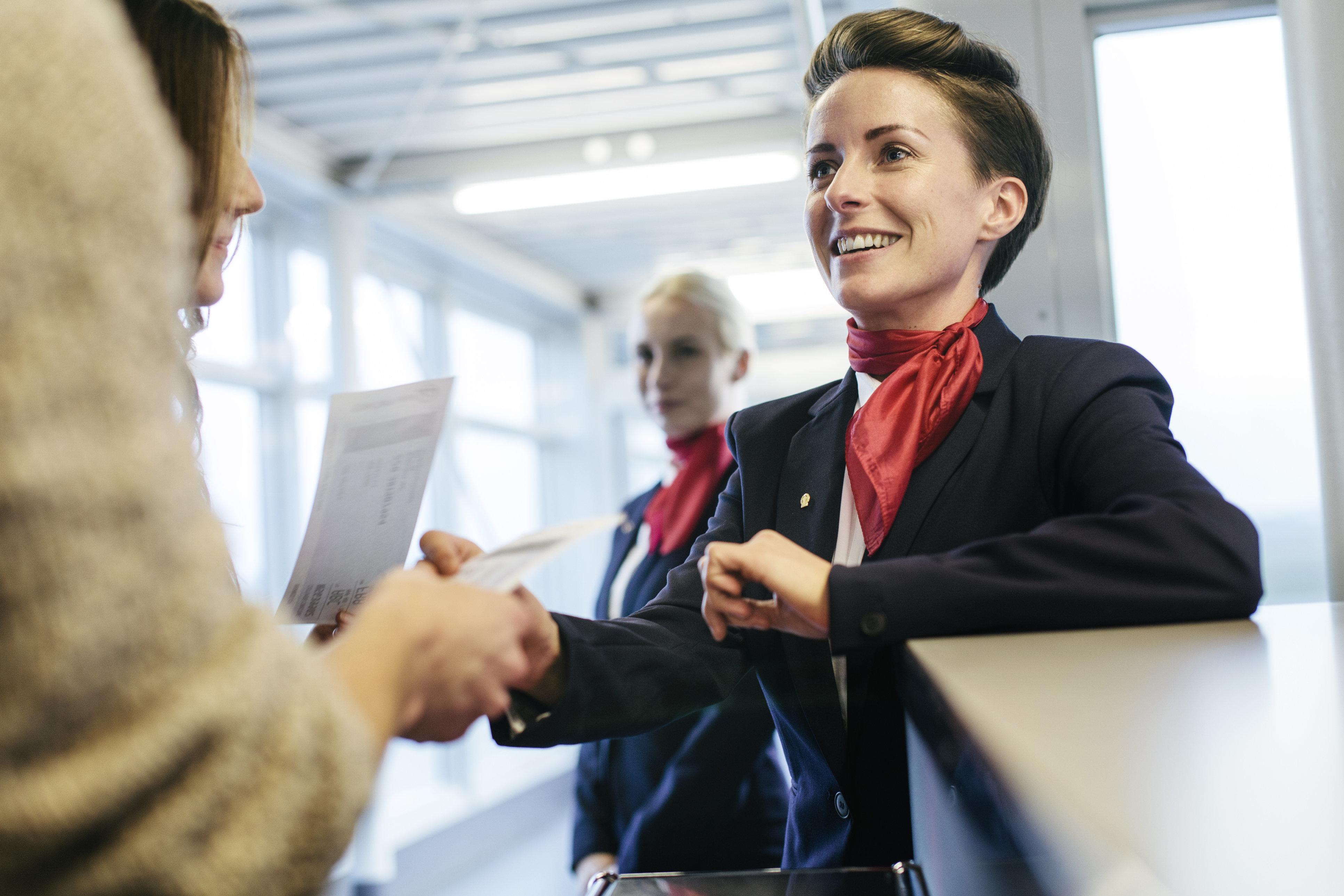 Fare assistenti di volo hook up